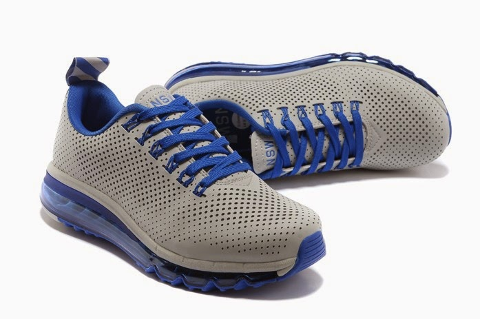New Release Nike Air Max 2013 Punching Mens Shoes Blue