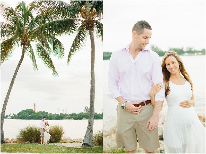 palm beach south florida maternity photos