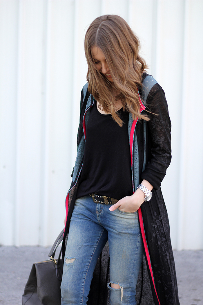 Fashion And Style Long Cardigan