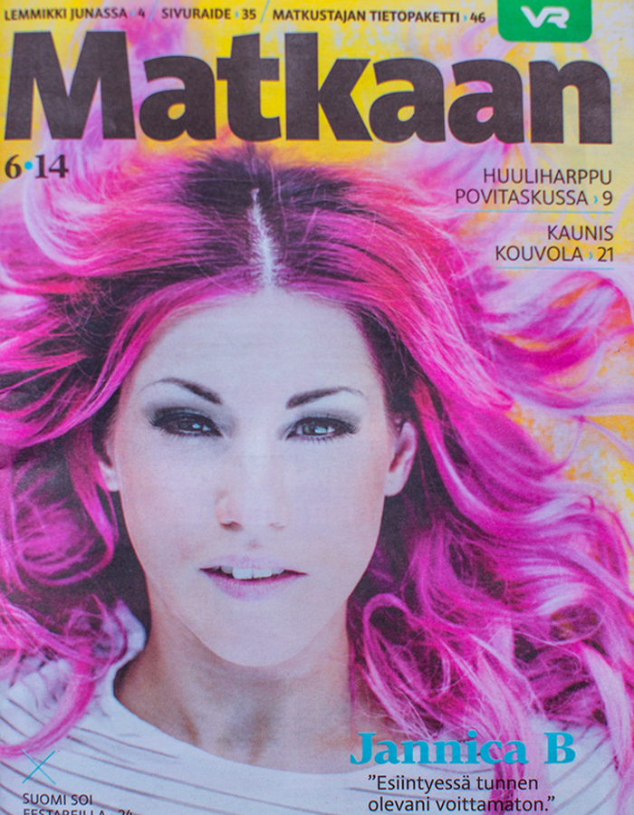 Matkaan magazine cover  photo by Kreetta Järvenpää www.gretchengretchen.com