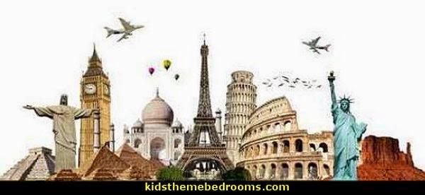Travel Theme Decorating Ideas