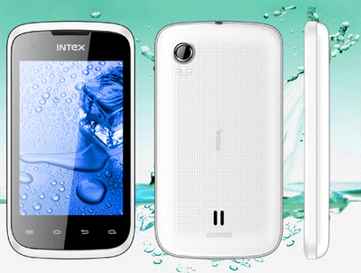 Intex Aqua 4.0 dual SIM smart phone