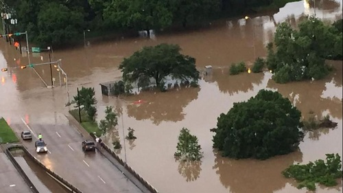 houston texas flood 2015