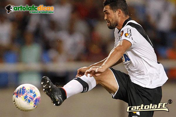Gilberto é um dos destaques do vasco para o Cartola fc 2015