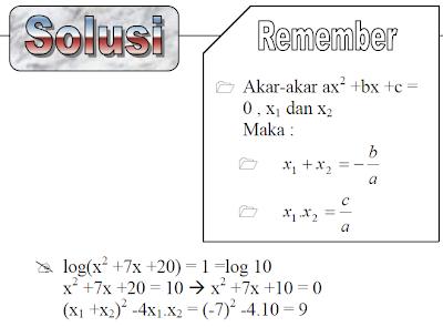 contoh penyelesaian soal matematika