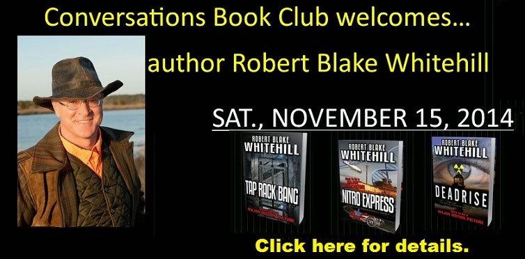 Author Robert Blake Whitehill visits Mississippi!