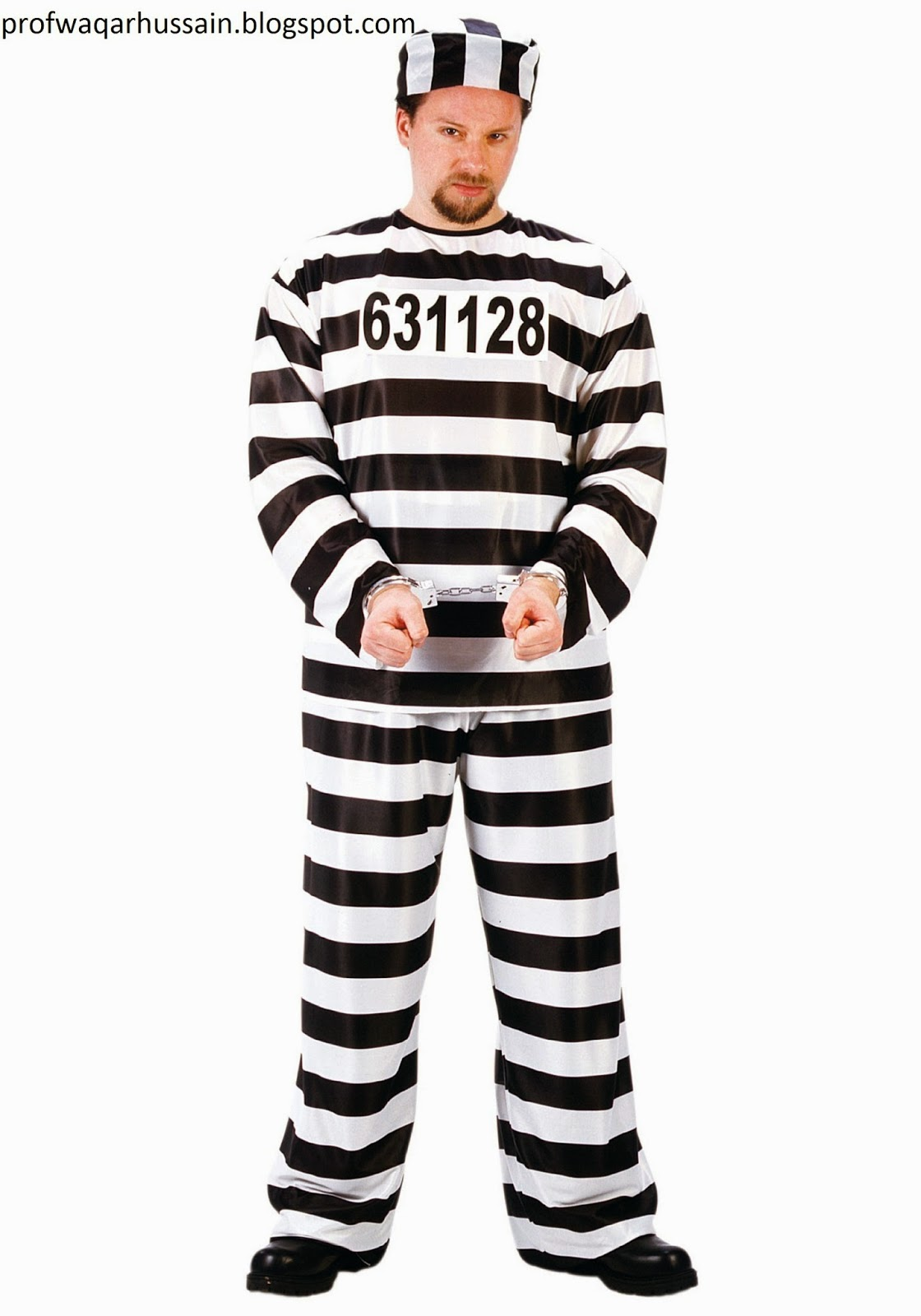 Articles Why Prisoner Uses White And Black Stripe Uniform