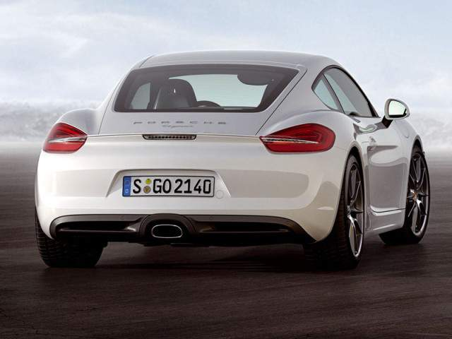 Porsche Cayman new 2013