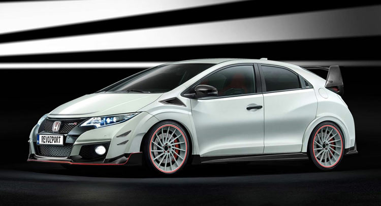 honda civic type r gets revozport body kits. Black Bedroom Furniture Sets. Home Design Ideas