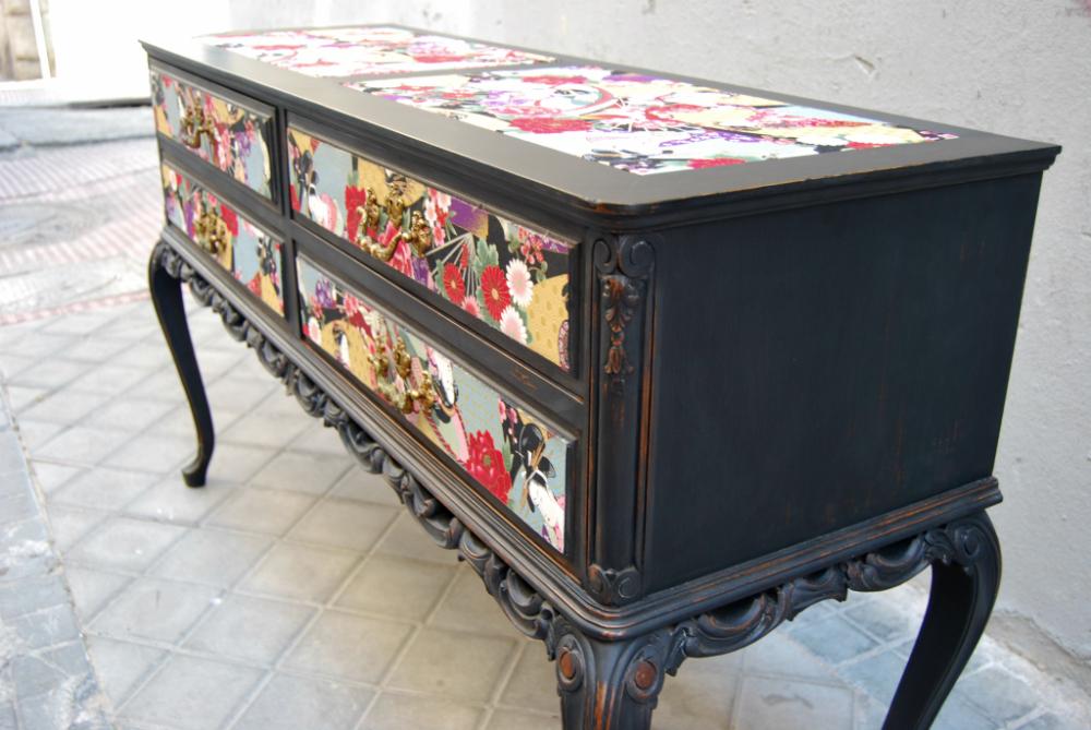 Aparador la tapicera - Modernizar muebles antiguos ...