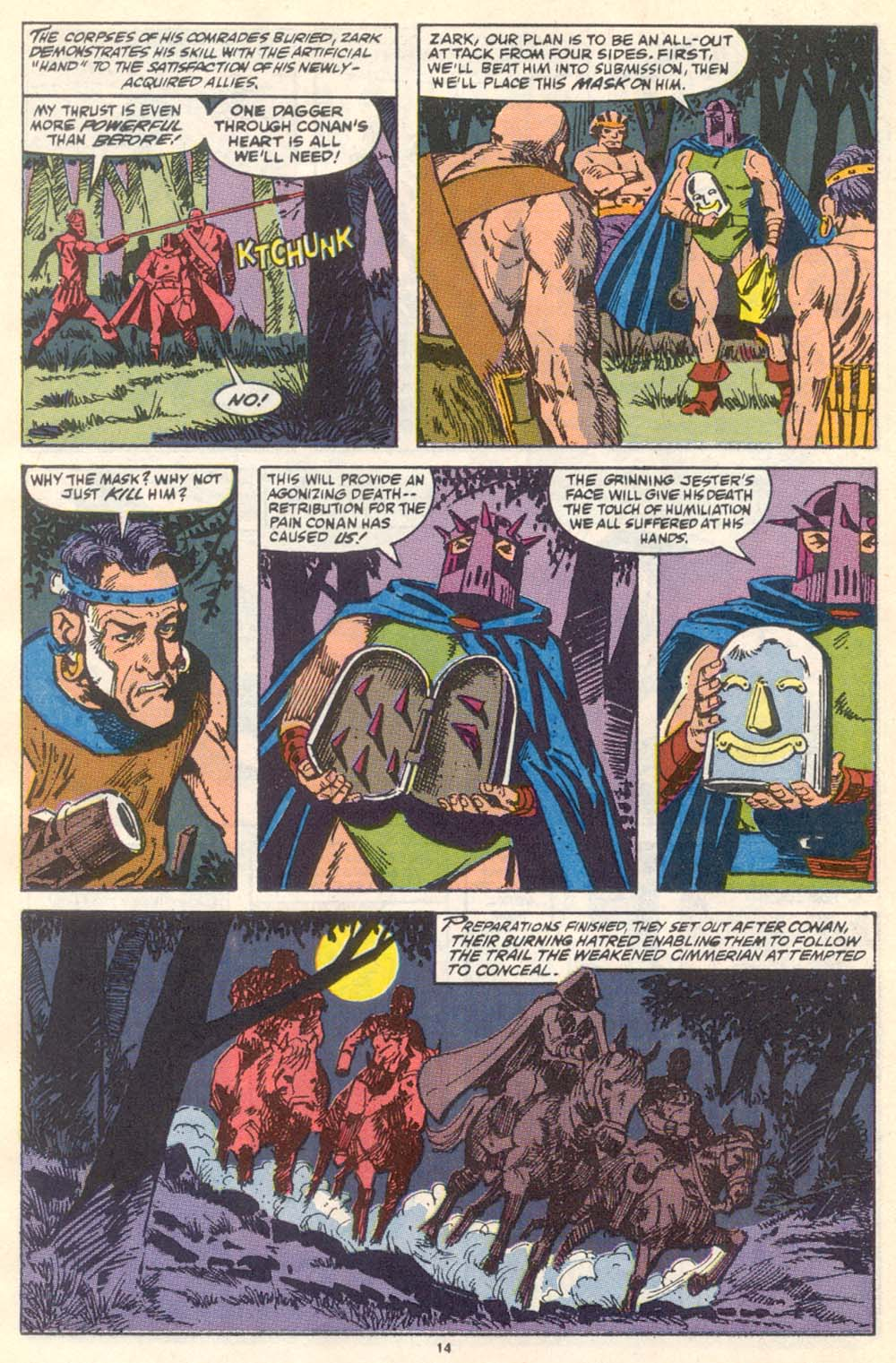 Conan the Barbarian (1970) Issue #222 #234 - English 11