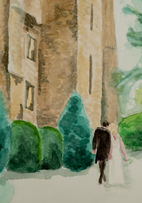Wedding watercolour 3