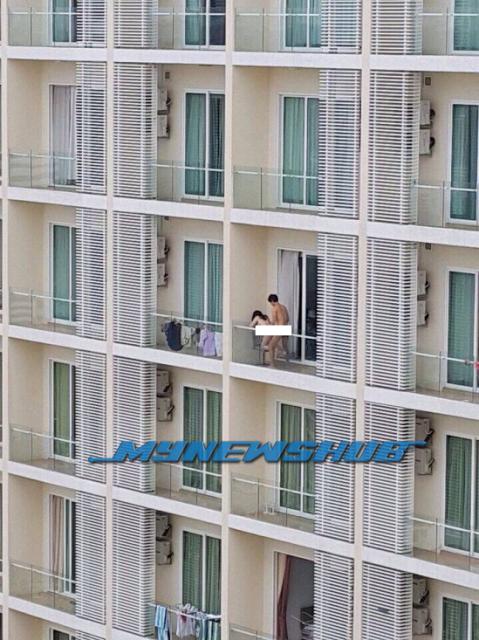 Foto Gila Seks Luar Balkoni Di Bangsar South