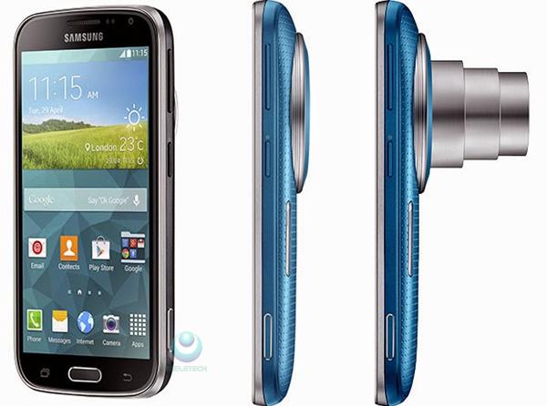 Layar Samsung Galaxy K Zoom