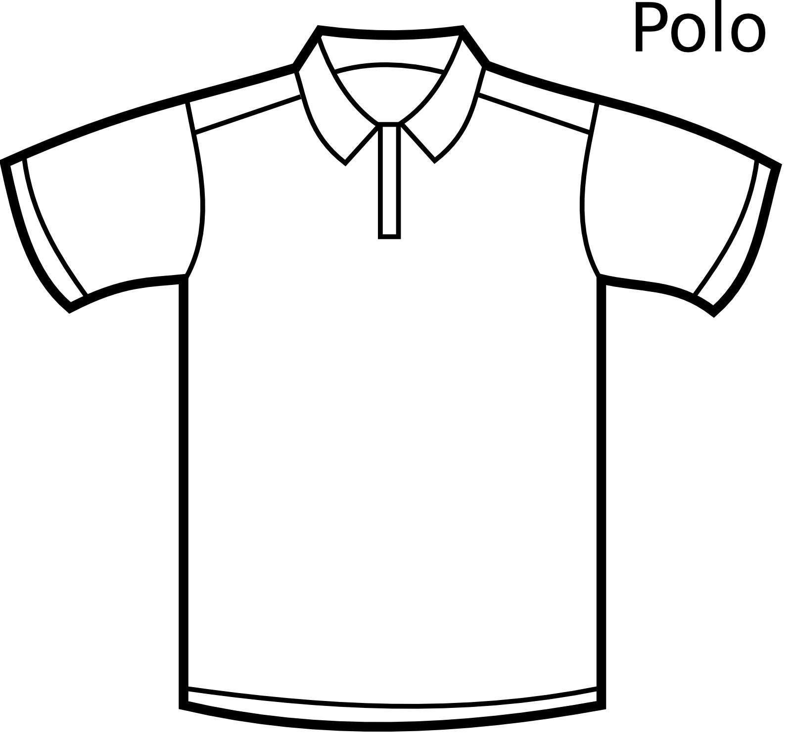 Coloring Pages Of Polo Shirt Coloring Pages