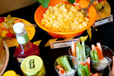 Crock pot Macaroni and Cheese for Construction Party