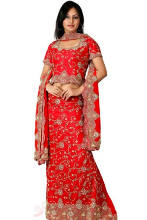 Red-Lehenga-Choli-For-Wedding