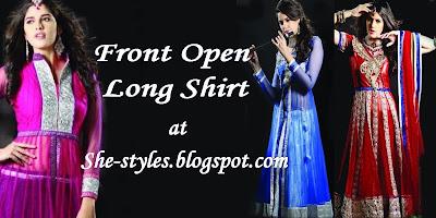 Long Shirt with Churidar Pajama