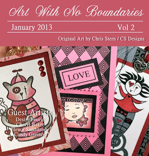 Art With No Boundaries Ezine Cover Jan 2013