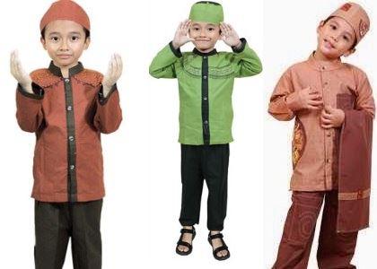 Model Baju Muslim Terbaru Untuk Anak Laki