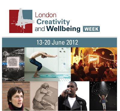 London creativity and wellbeing week 2012
