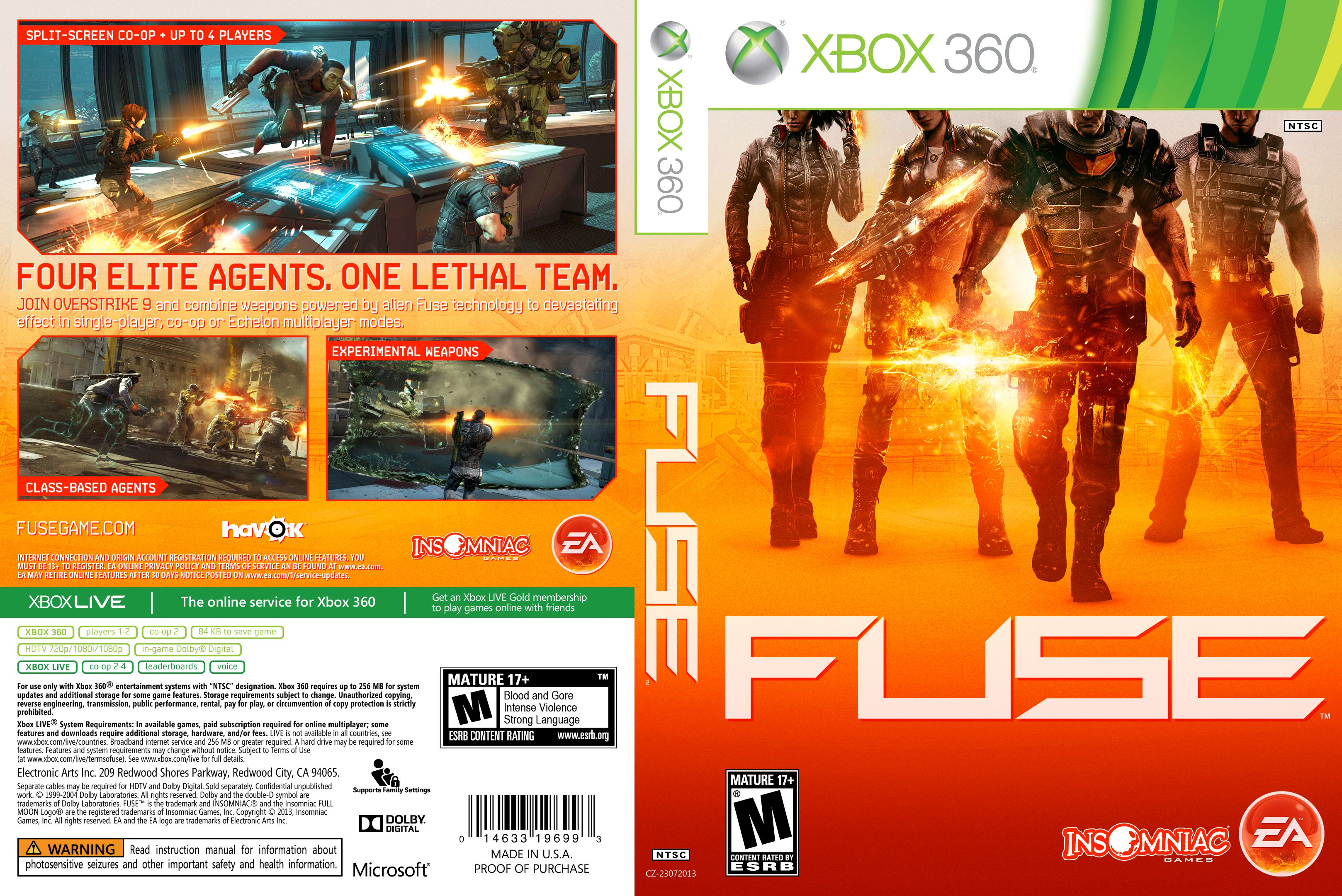Fuse Xbox 360 Game Review : Detroitrutracker