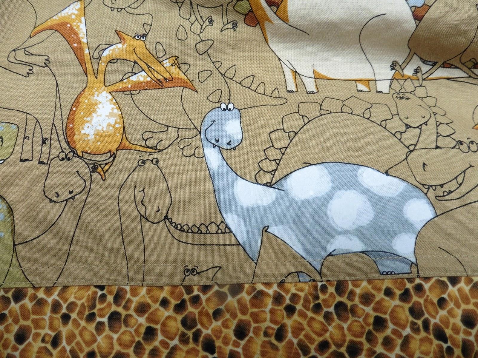 dianeloves2quilt dinosaur crib sheets