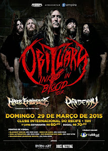 OBITUARY - INKED IN BLOOD TOUR