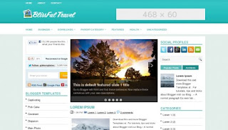 BlissfulTravel Blogger Teması