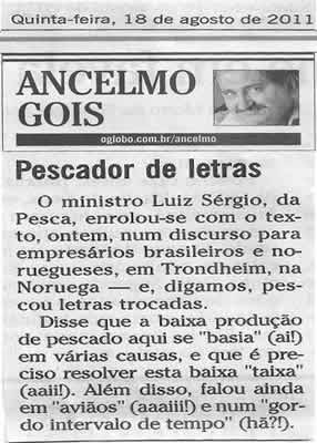 Luiz Sérgio mata o português na Noruega