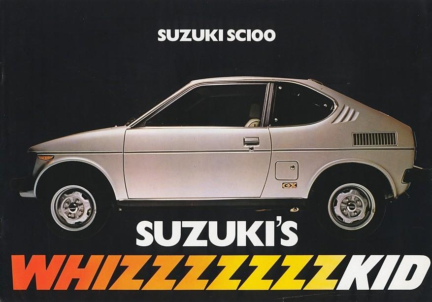 Suzuki whizzkid, sc100, stare auta z rynku europejskiego, klasyczne samochody do kupienia, japońskie małe auta