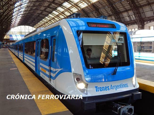 Cr nica ferroviaria l nea mitre modificaci n del cuadro for Ministerio del interior y transporte de la nacion
