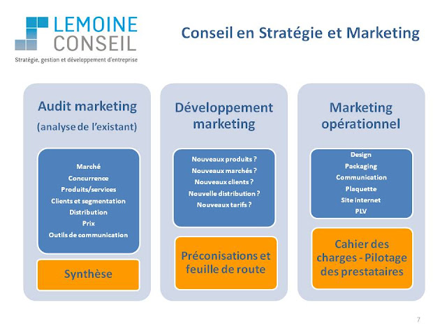 Audit Diagnostic marketing conseil marketig opérationnel