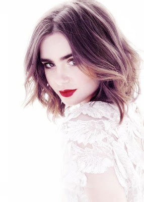 lily collins, girl crush, Jamie Campbell Bower,