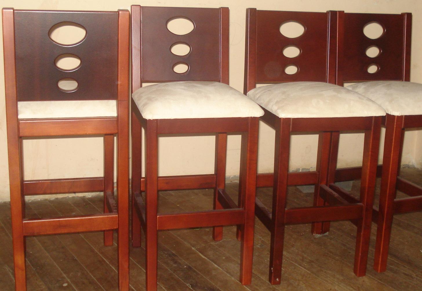 Sociedad decorativa en maderas muebles para su hogar - Sillas cocina madera ...