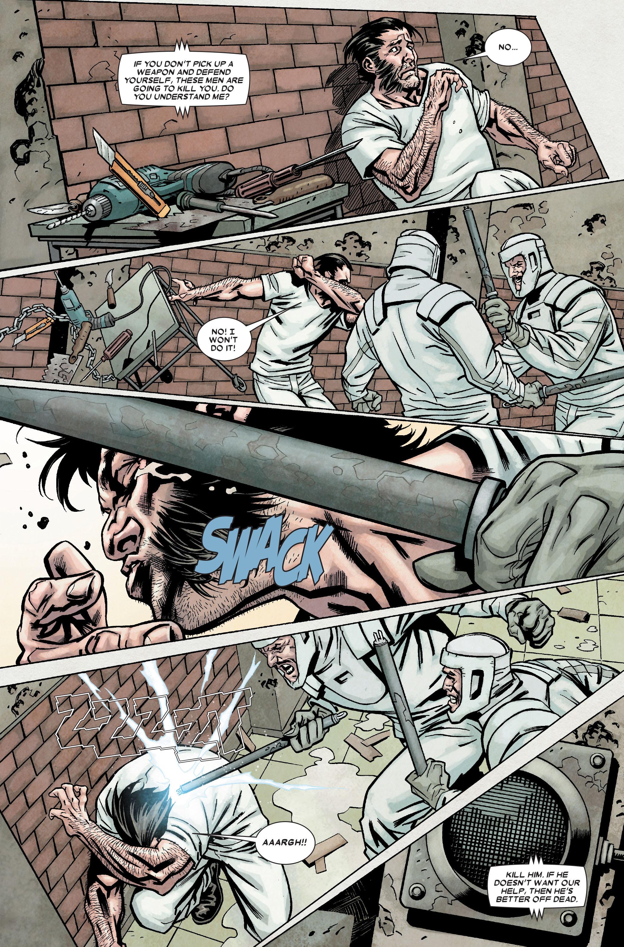 Wolverine: Weapon X #7 #10 - English 21