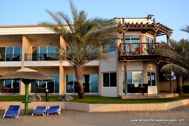 Fujairah Rotana Resort and Spa's beach-side rooms
