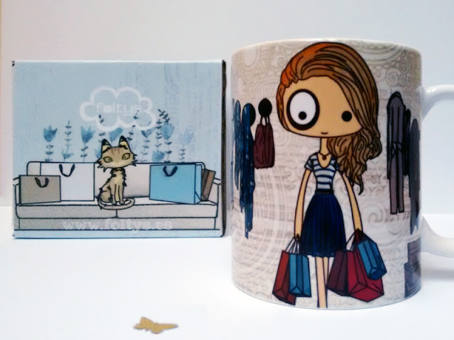 taza personalizada | custom mug | foltys vs Laura - handmade with love