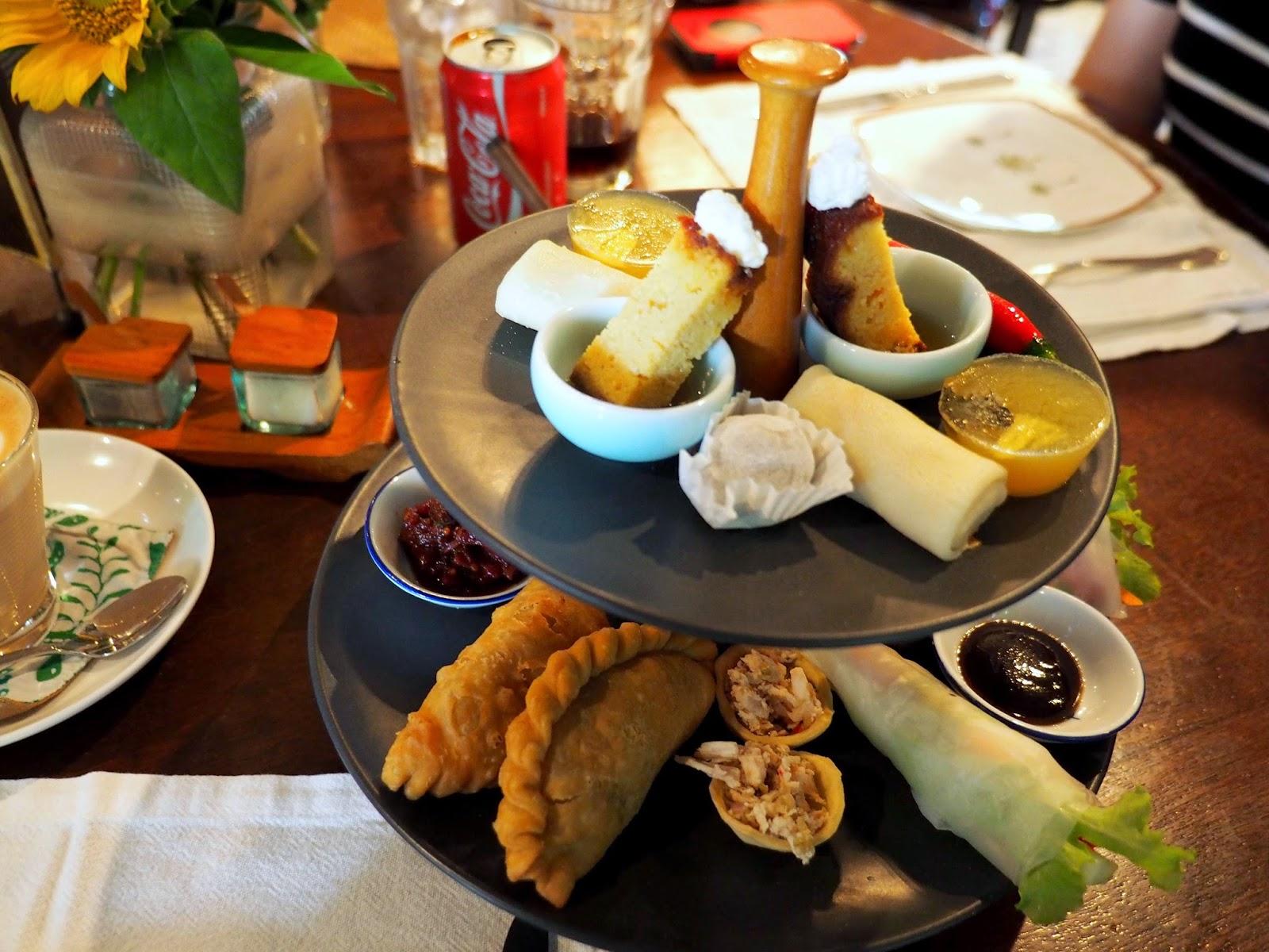 Bali 2014 biku restaurant for Club sandwich fillings for high tea