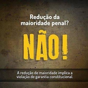 Redução não!!!!!!