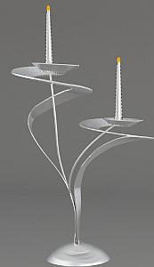 Portavelas, Diseños Modernos