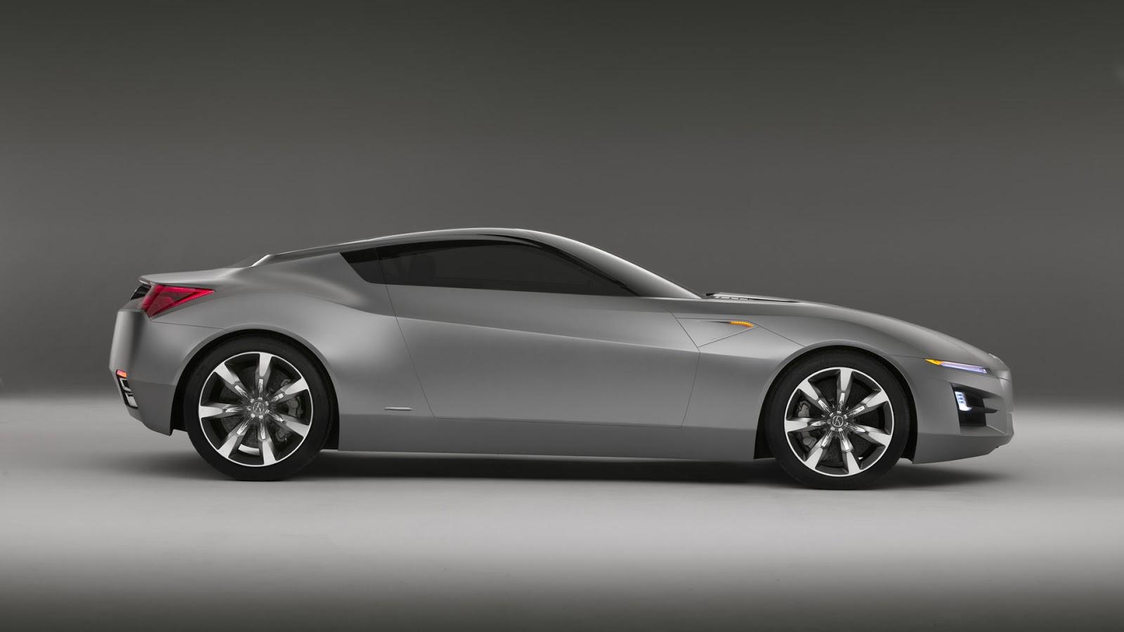 Acura Grey Sport Car