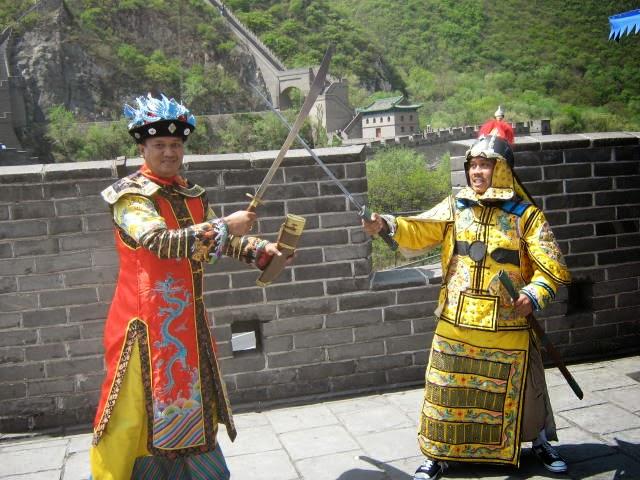 Satria di Tembok Besar Cina