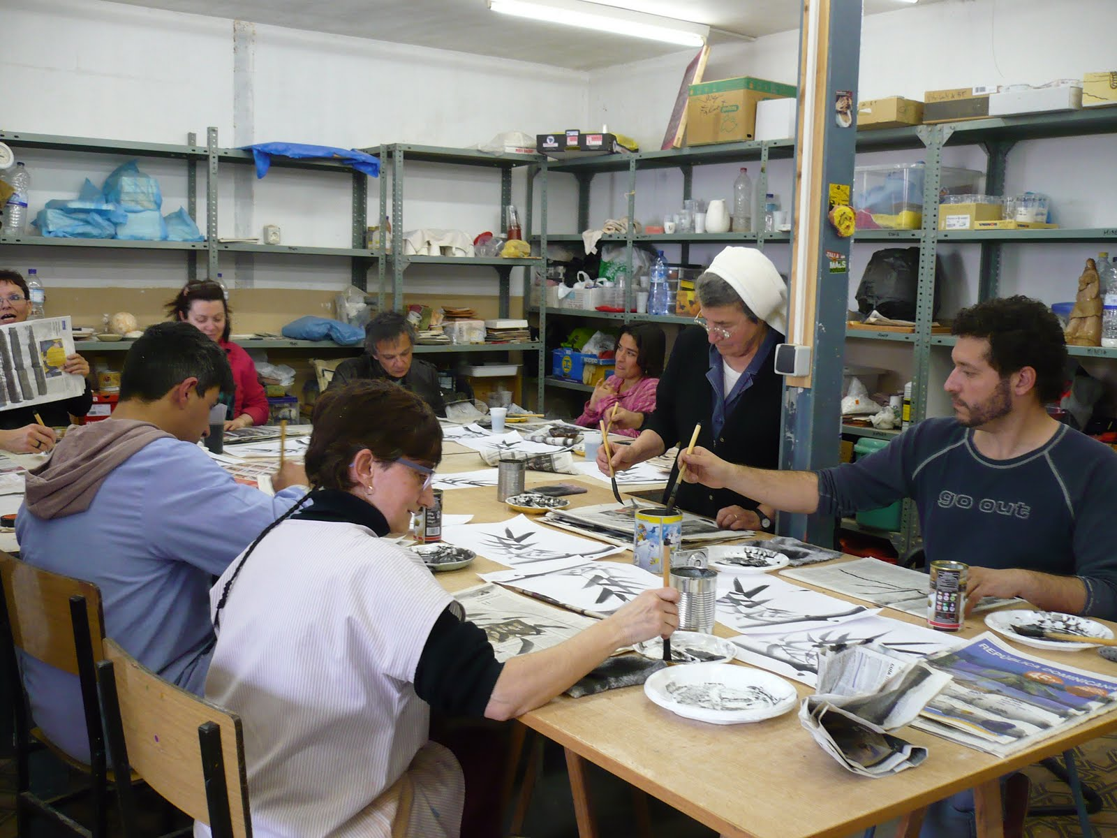 Chisato ceramica curso de kamigama en la escola de art i for Curso ceramica barcelona