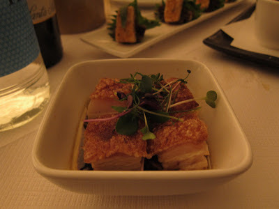 Crispy Pork Belly at E&O Notting Hill