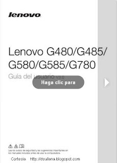 Manual Lenovo G480 G485
