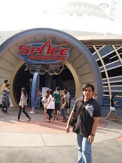 Hong Kong Disneyland Space Mountain