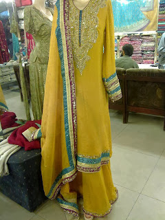 Girls Mehndi Dress