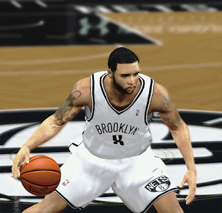 NBA 2K13 Deron Williams Cyberface Patch NBA2K