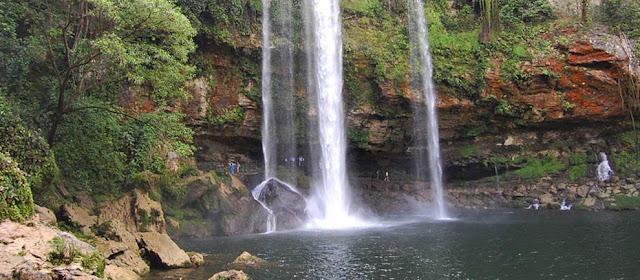 Cascada Misol-Ha Palenque